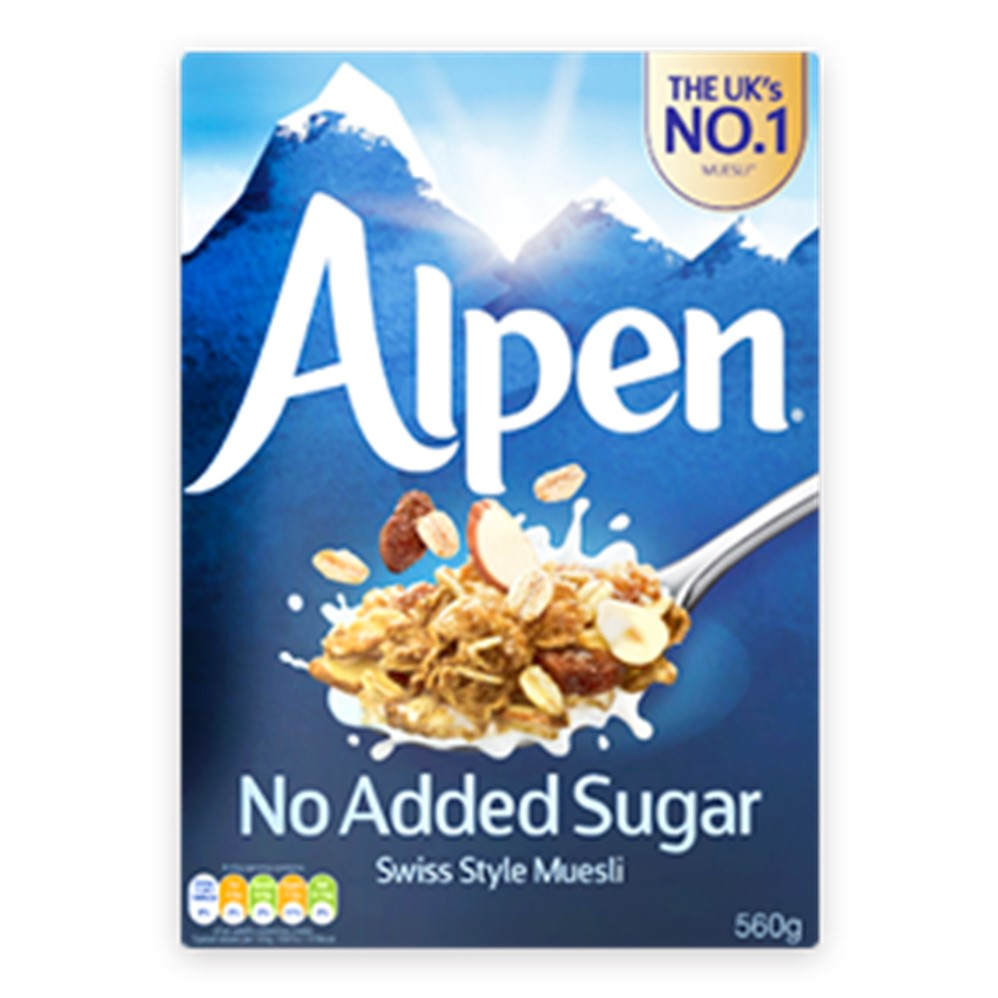 Alpen Muesli No Added Sugar - 1.1kg packet