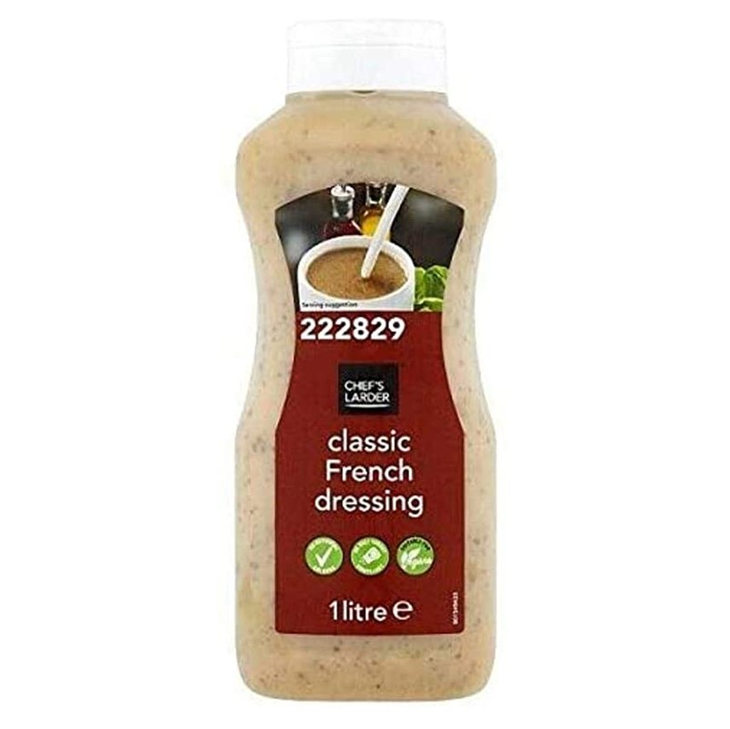 CL French Dressing - 1L squeezy bottle