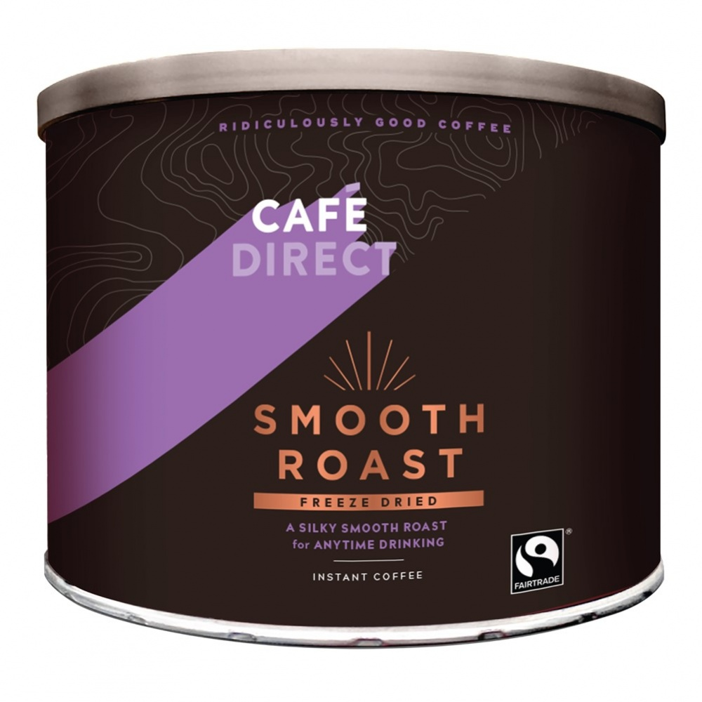 Cafedirect Instant Freeze Dried Smooth Roast - 500g tub [FT]