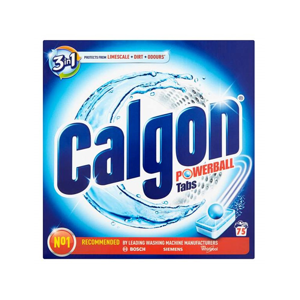 Calgon Powerball 3 In 1 Tabs - 75 tablets