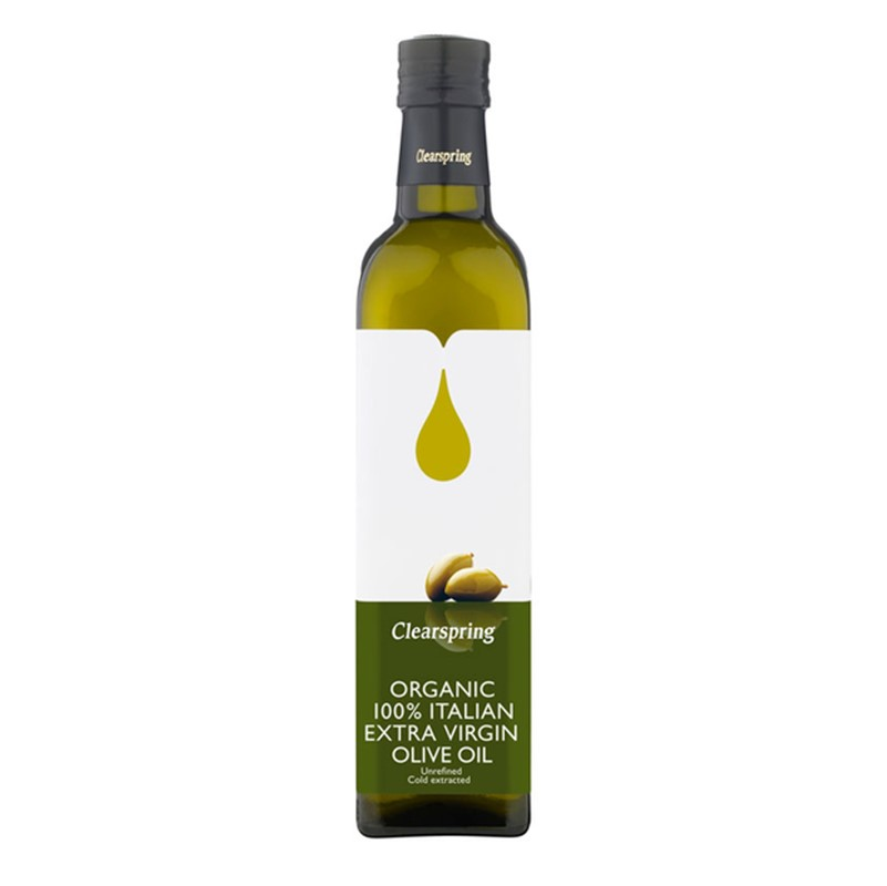 Clearspring Olive Oil Extra Virgin - 500ml glass bottle [ORG]
