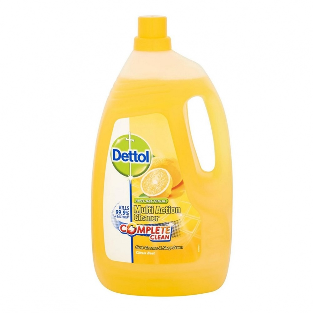 Dettol Anti-Bacterial Multi Action Cleaner Citrus - 4L bottle