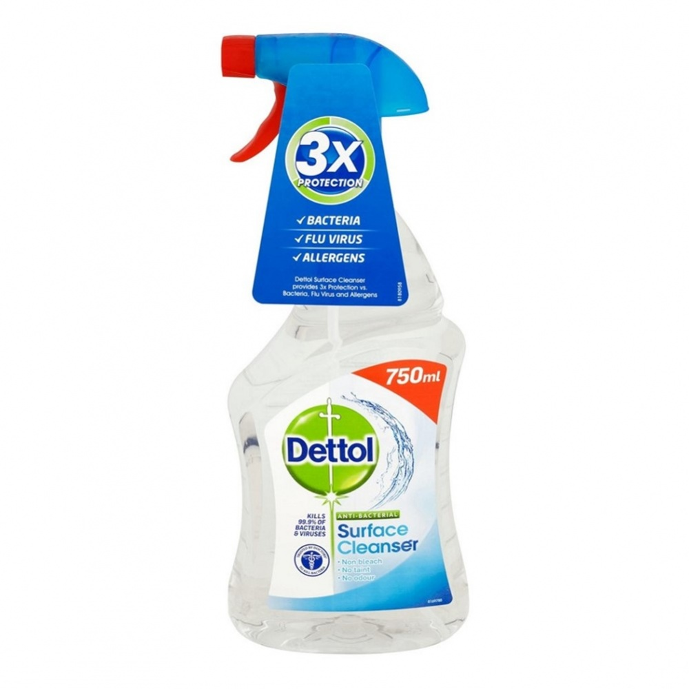 Dettol Anti-Bacterial Multi Surface Cleanser - 750ml spray