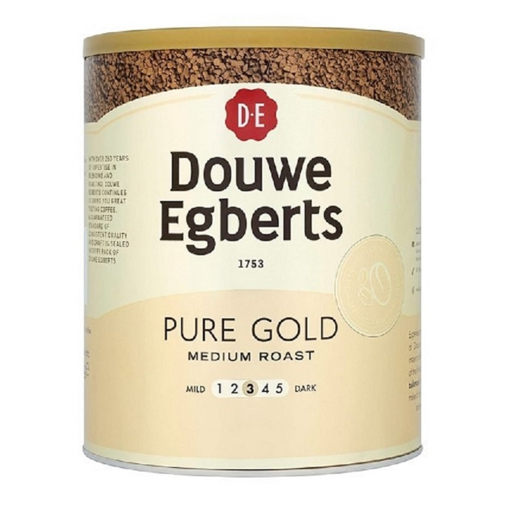 Douwe Egberts Pure Gold Instant Freeze Dried Coffee - 750g tin