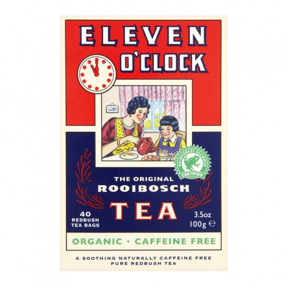Eleven O'Clock Rooibos (Redbush) - 40 tea bags [ORG] BEST BEFORE 31/12/20