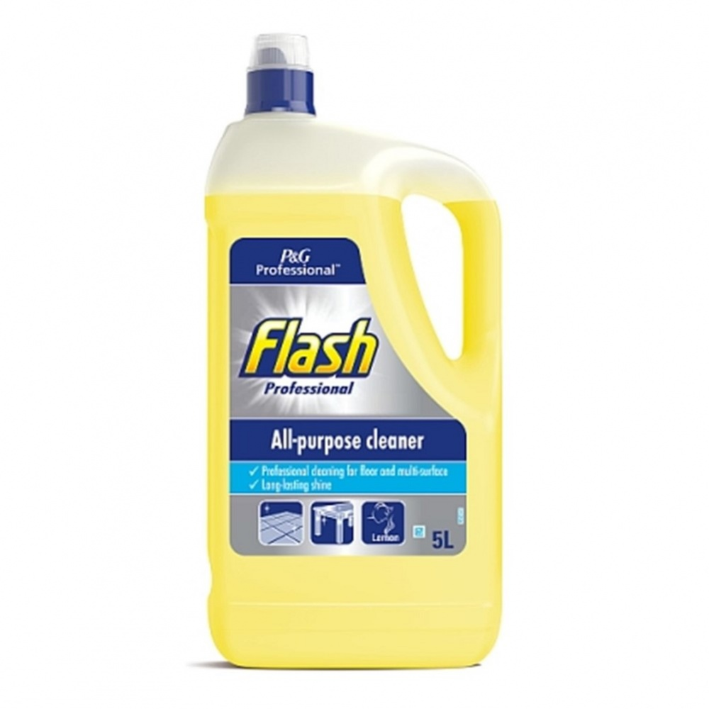 Flash PRO Liquid All Purpose Lemon - 5L bottle