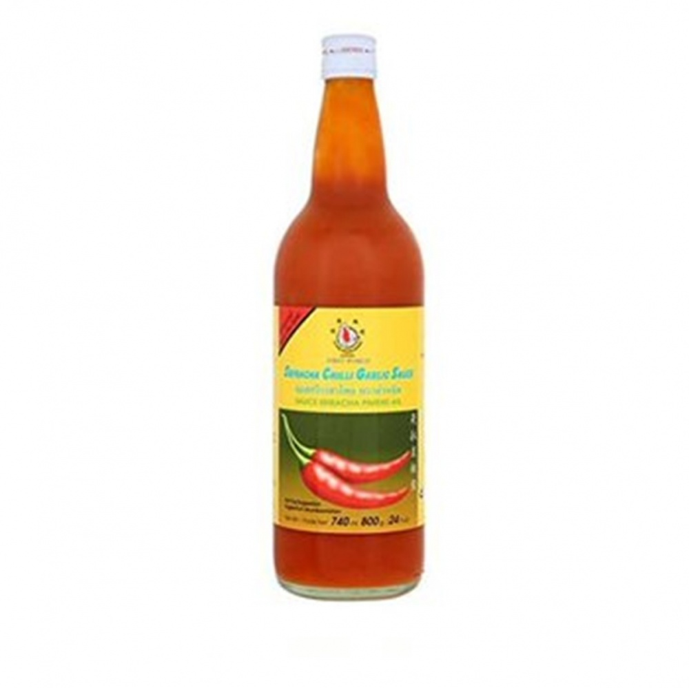 Flying Goose Sriracha Hot Chilli Garlic - 740ml glass bottle