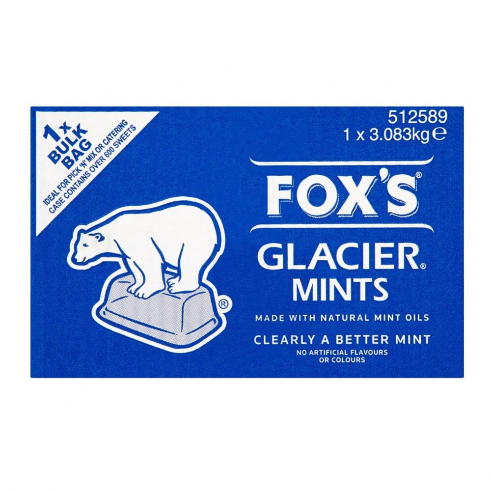 Fox's Glacier Mints [Wrapped] - 3.083kg BIG box