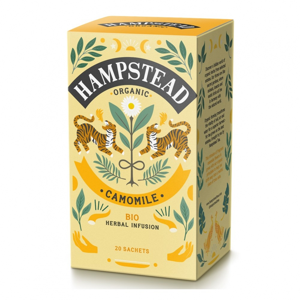 Hampstead Camomile - 20 tea bags in envelopes [ORG]