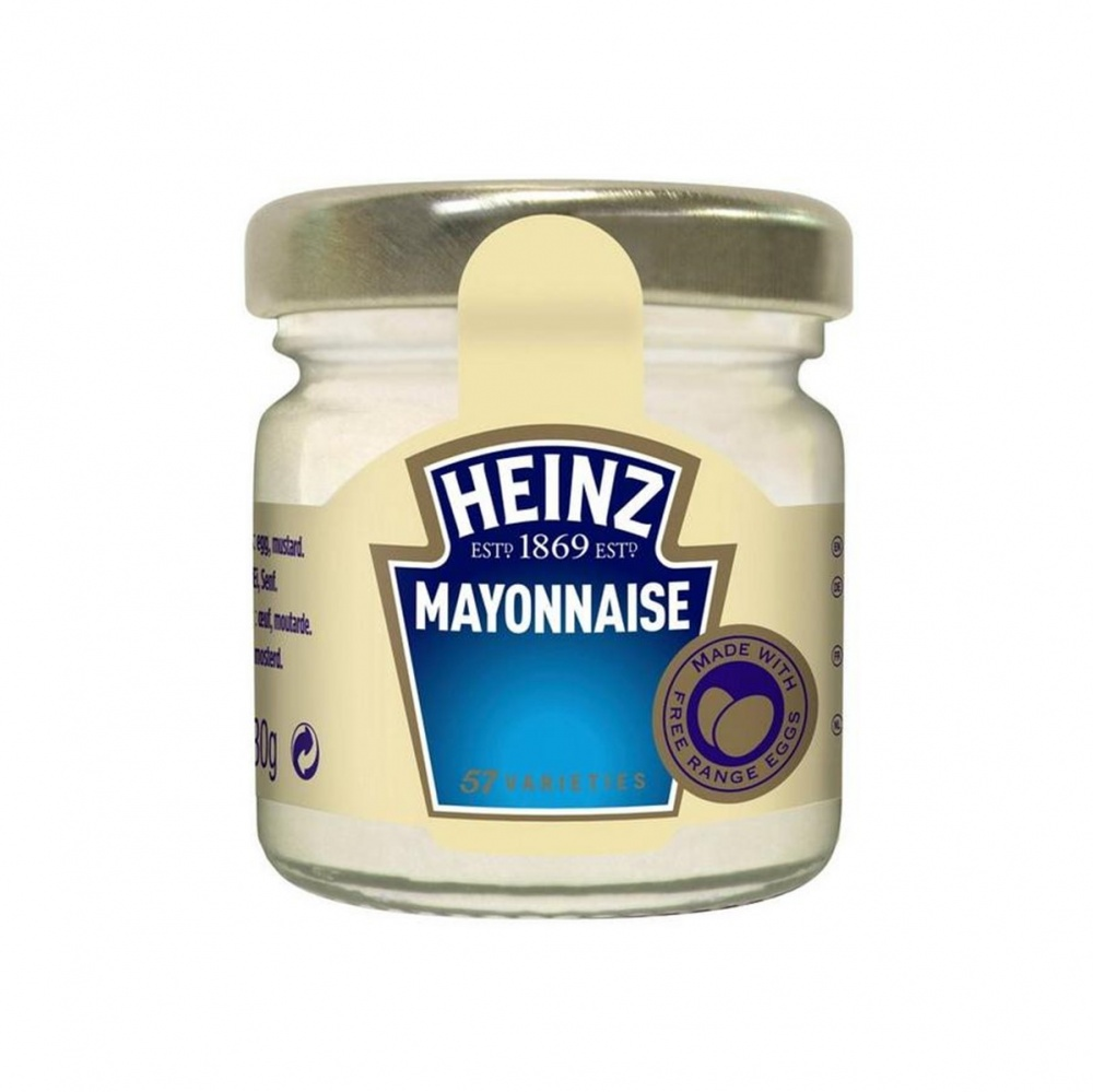Heinz Sauce Mayonnaise - 80x33ml mini glass jars