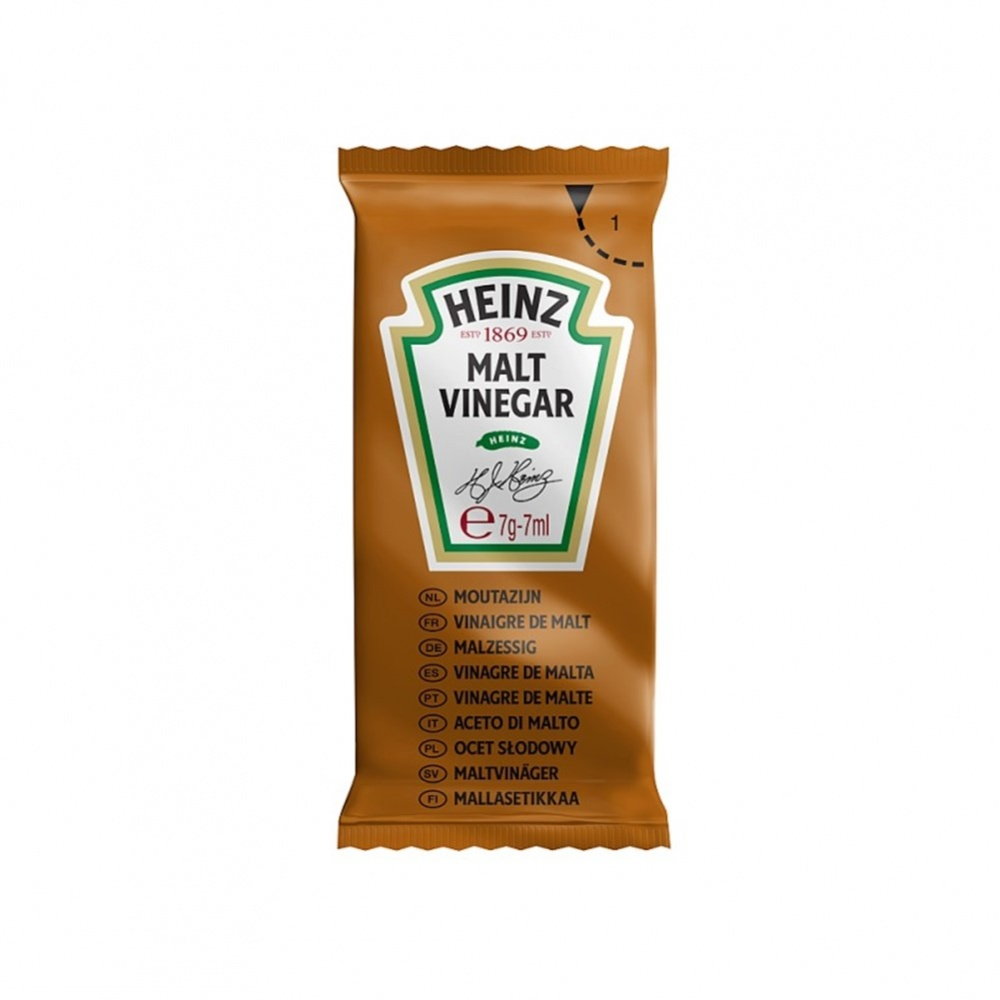 Heinz Sauce Vinegar - 200x7ml sachets in dispenser