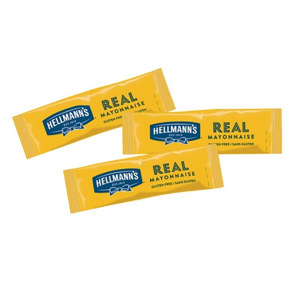 Hellmann's Mayonnaise - 198x10ml sachets in dispenser