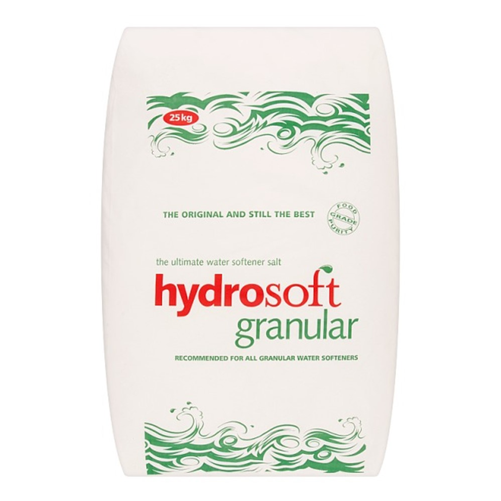 Hydrosoft Water Softener Salt GRANULATED - 25kg sack