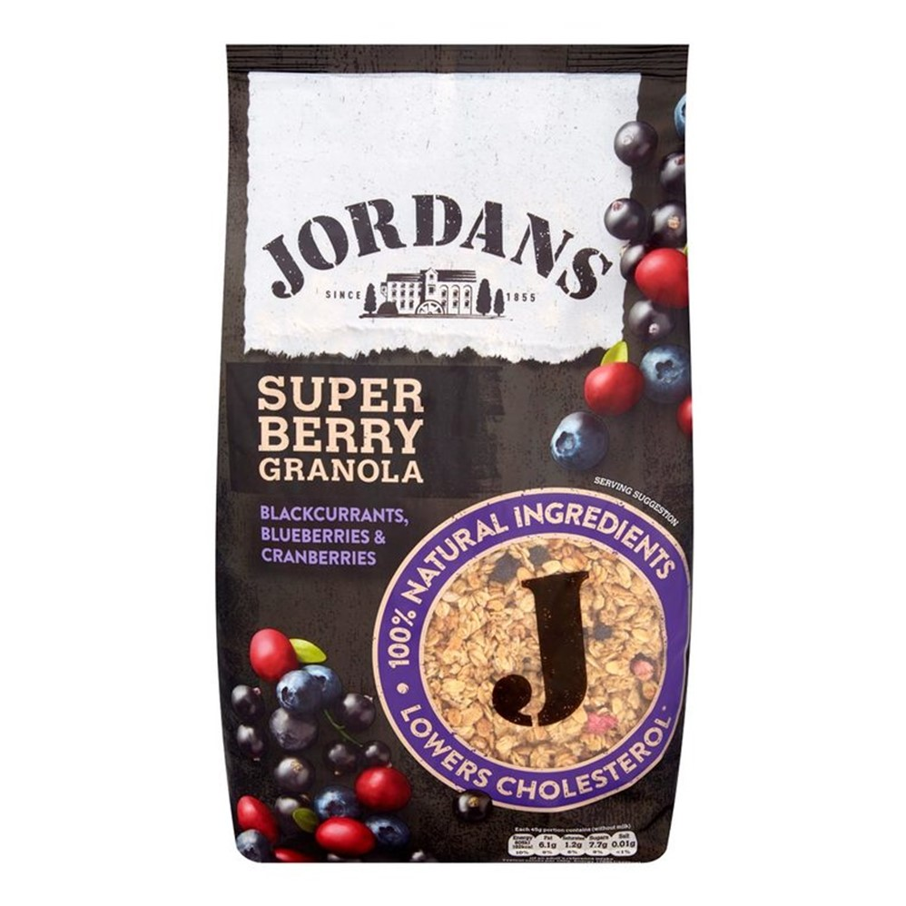Jordans Granola Super Berry - 1.5g BIG bag