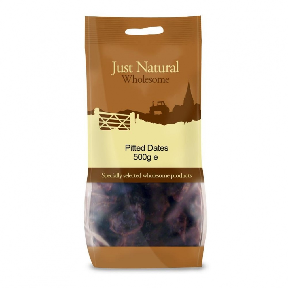 Just Natural Dates [Pitted] - 500g bag [ORG]