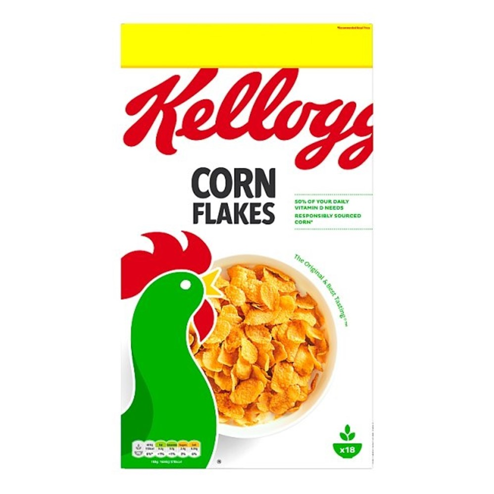 Kellogg's Corn Flakes - 550g box