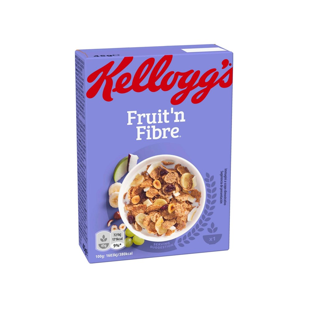 Kellogg's Food Service Fruit & Fibre - 40x45g mini boxes