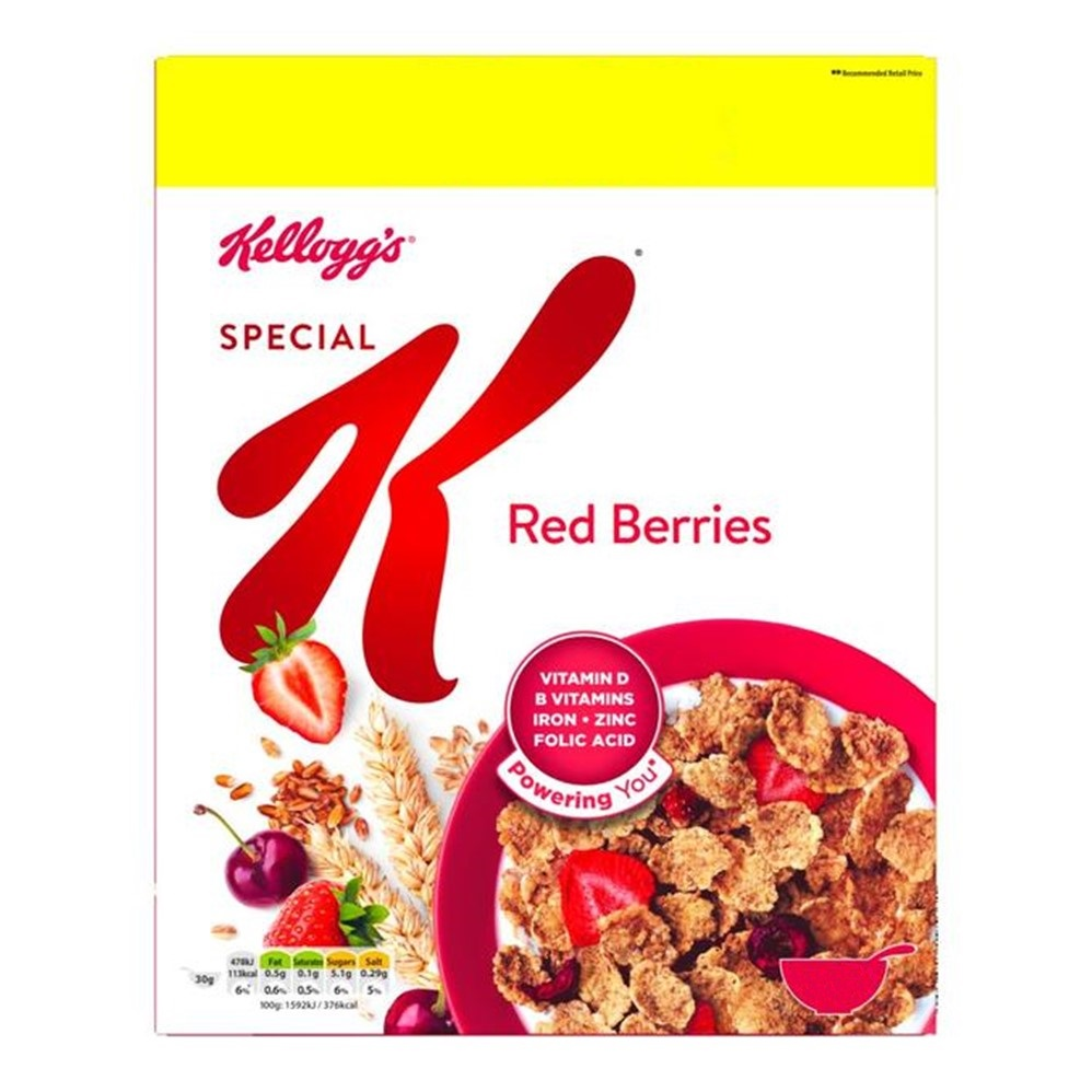 Kellogg's Special K With Red Berries - 330g box
