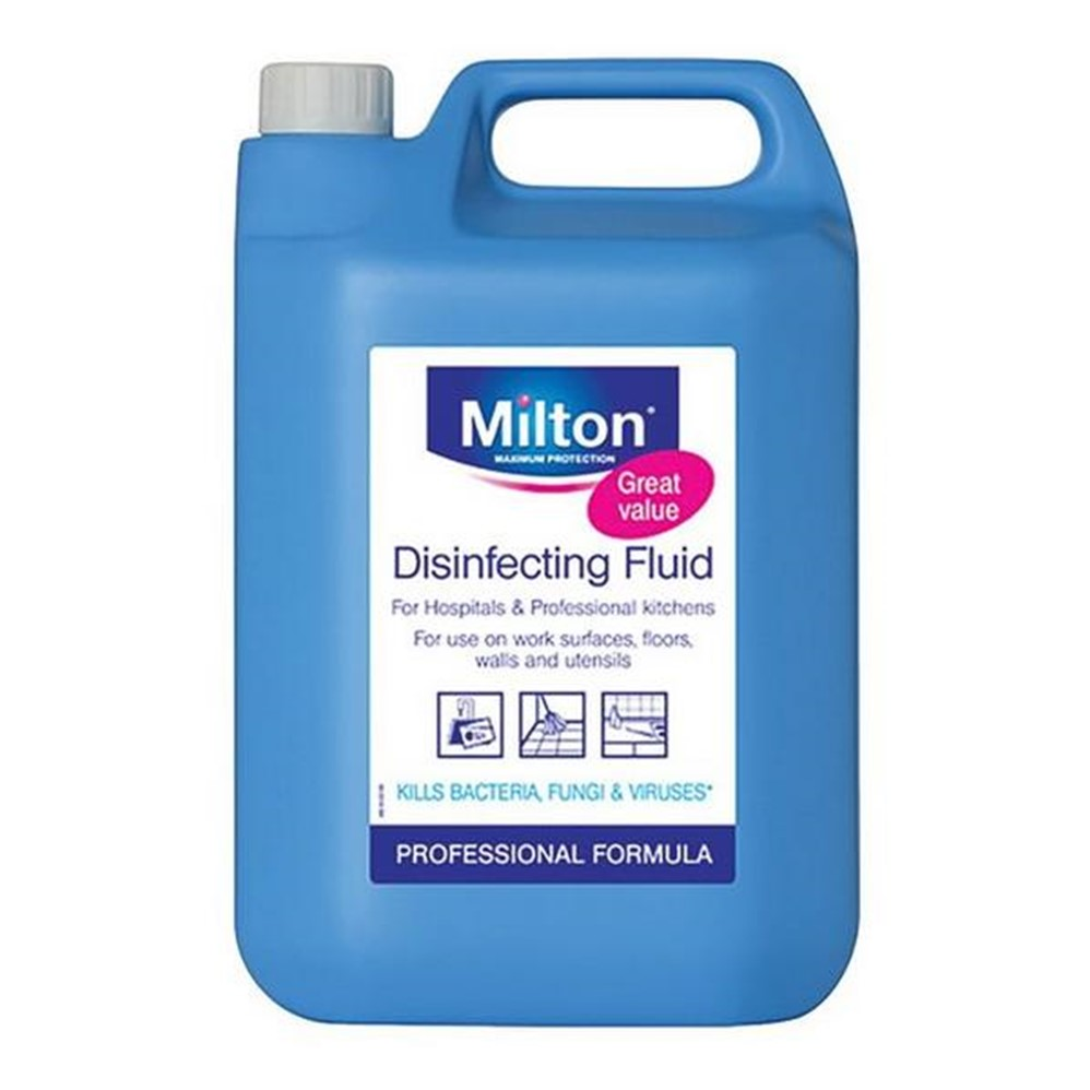 Milton Disinfecting Liquid - 5L BIG bottle