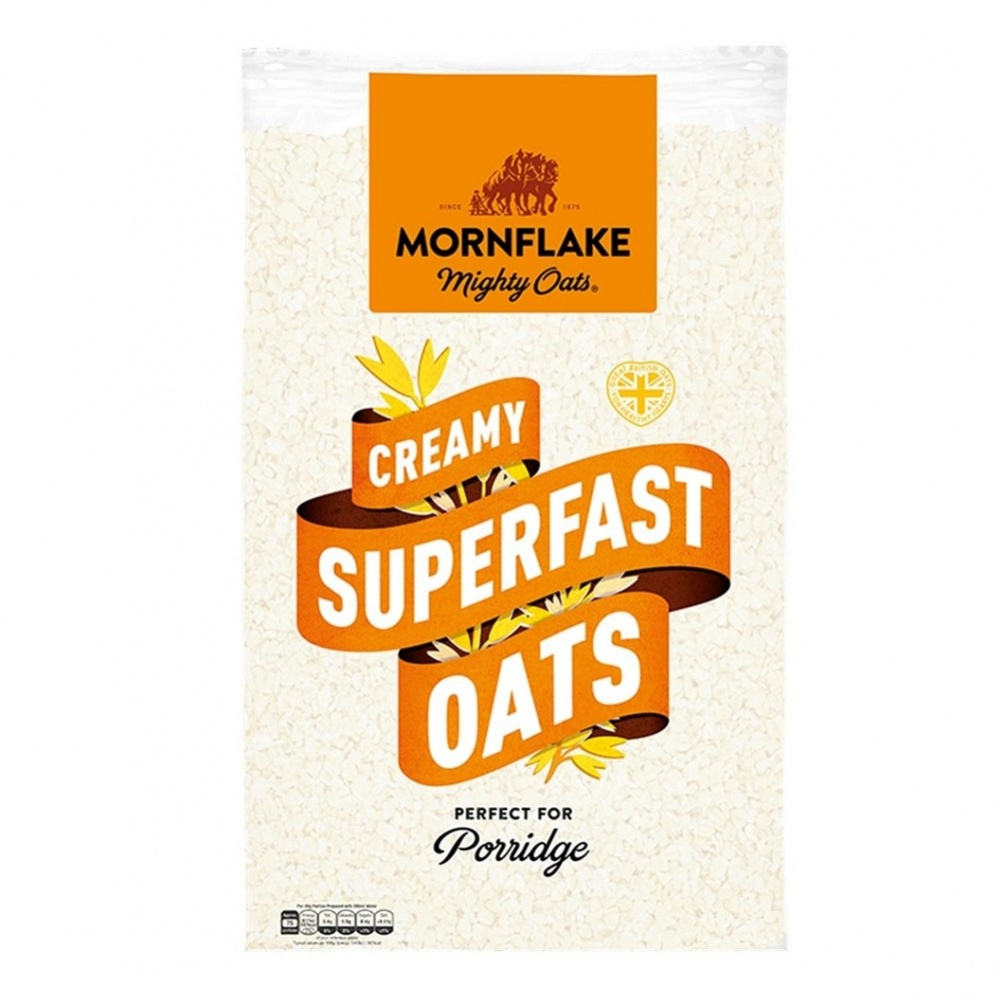 Mornflake Creamy Superfast Oats - 2kg BIG packet