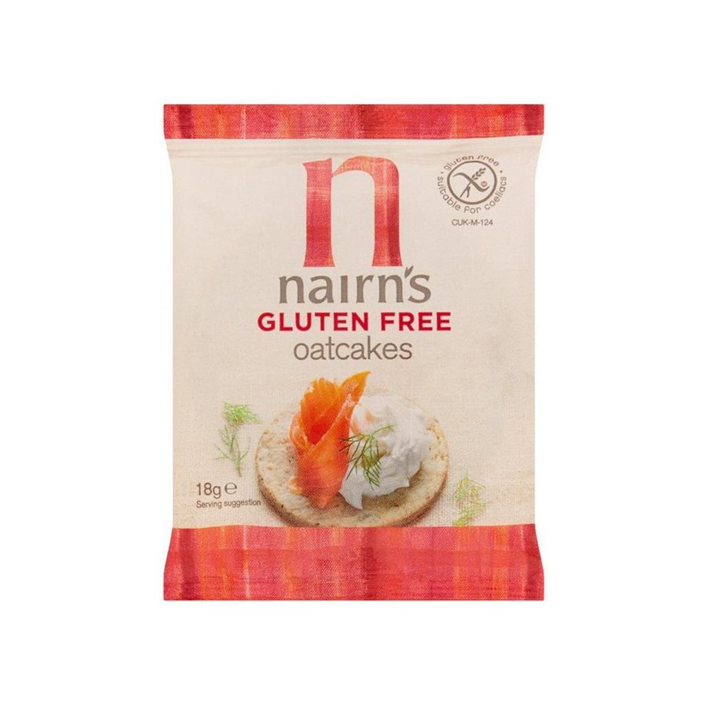 Nairn's Oatcakes - 60x18g portion packs
