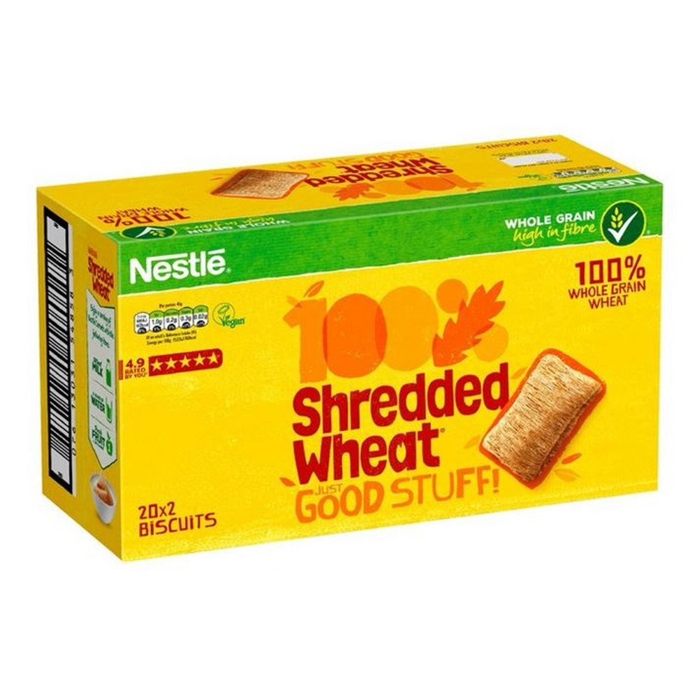 Nestle Shredded Wheat - box 20x2 wrapped biscuits