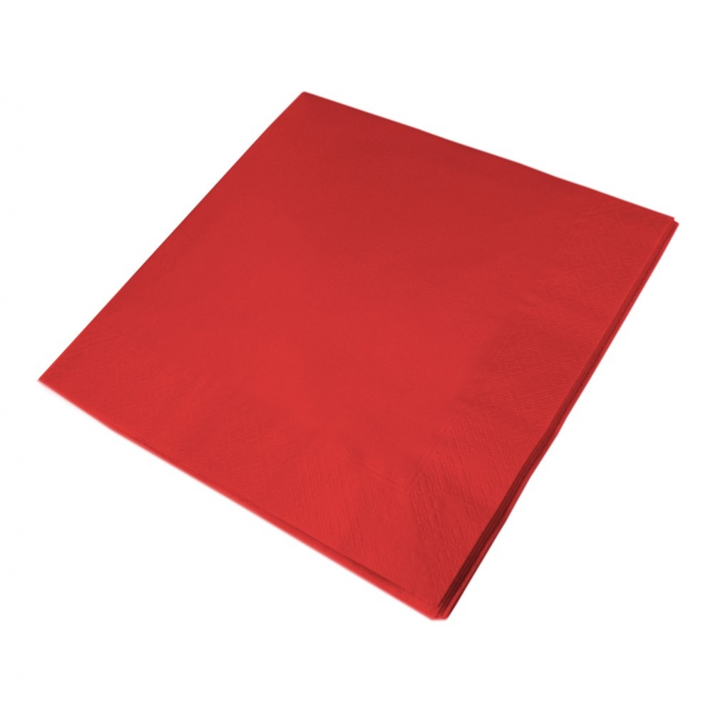 Swantex Napkins Red 33cm - 100x2 ply