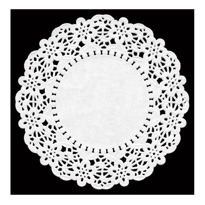 Swantex Doilies Large White - 250x26cm round