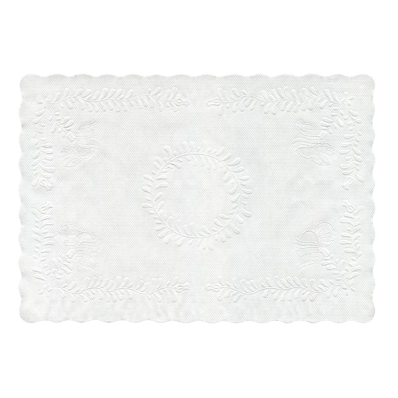 Swantex Doilies Tray Mats White - 250 [30x40cm] rectangle