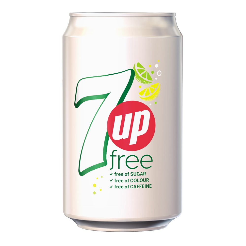 7up Free - 24x330ml cans