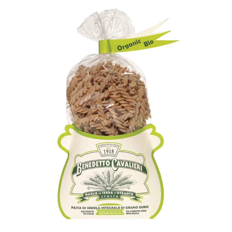 Benedetto Cavalieri Fusilli [wholemeal] - 500g packet [ORG]