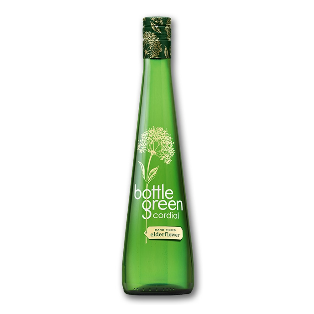 Bottlegreen Cordial Elderflower - 500ml glass bottle