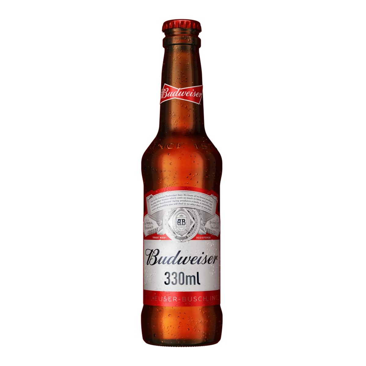 Budweiser Lager - 24x300ml bottles