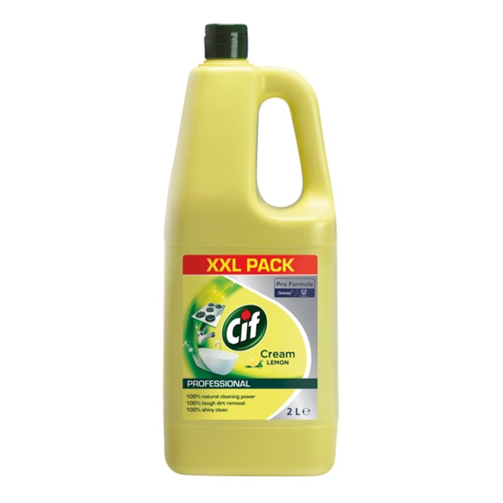 Cif PRO Cream Lemon - 2L XL bottle