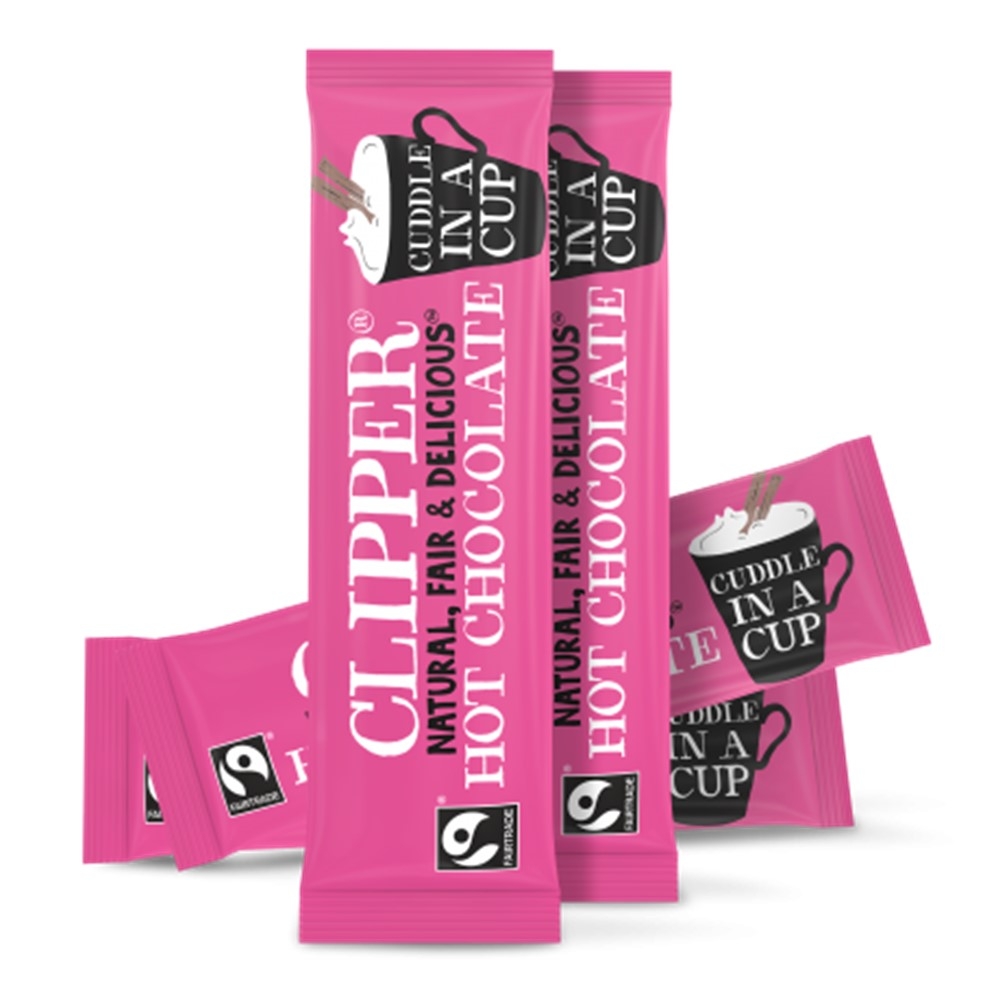 Clipper Instant Hot Chocolate - 30x28g sachets [FT]