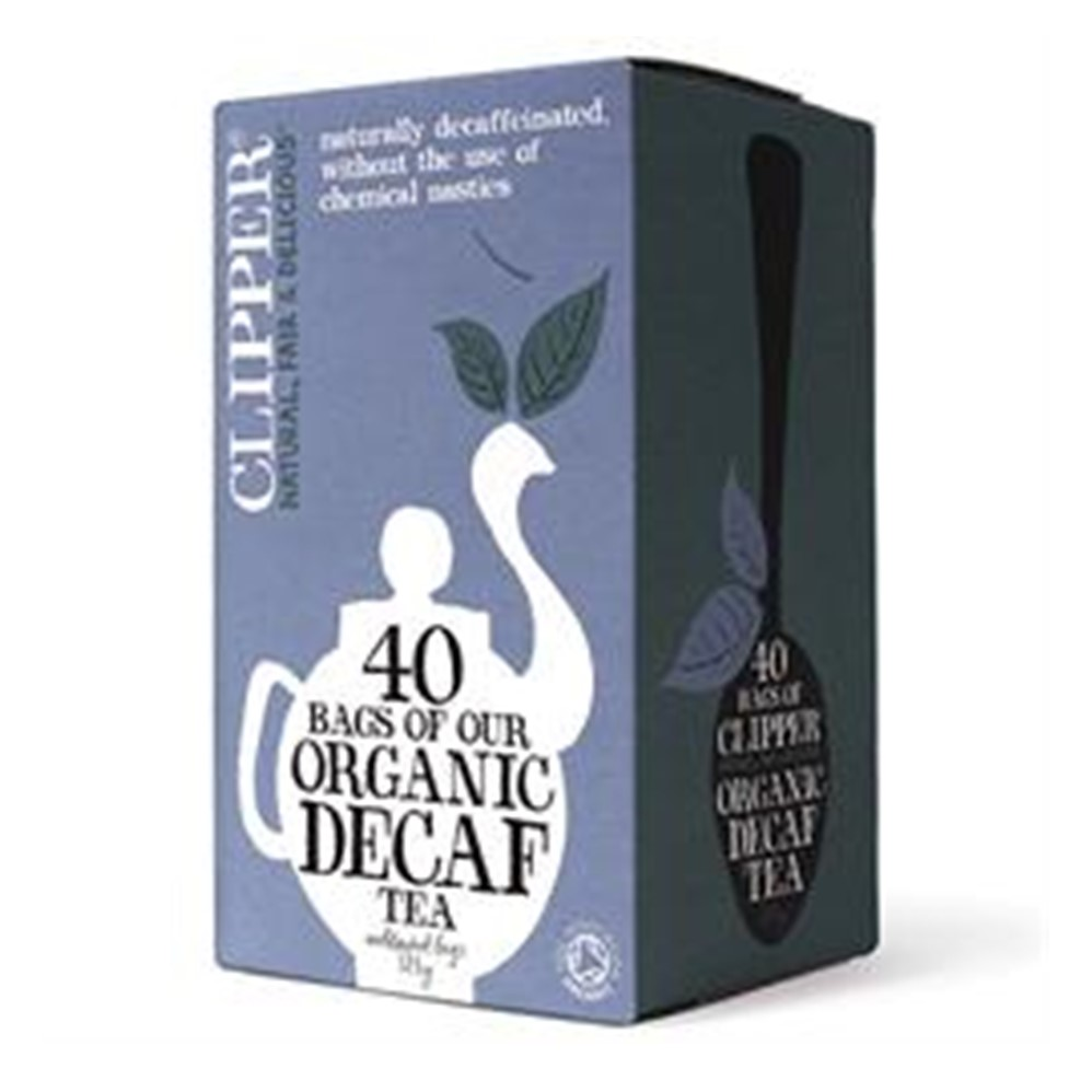 Clipper Tea Everyday DECAFFEINATED - 40 tea bags [FT & ORG]
