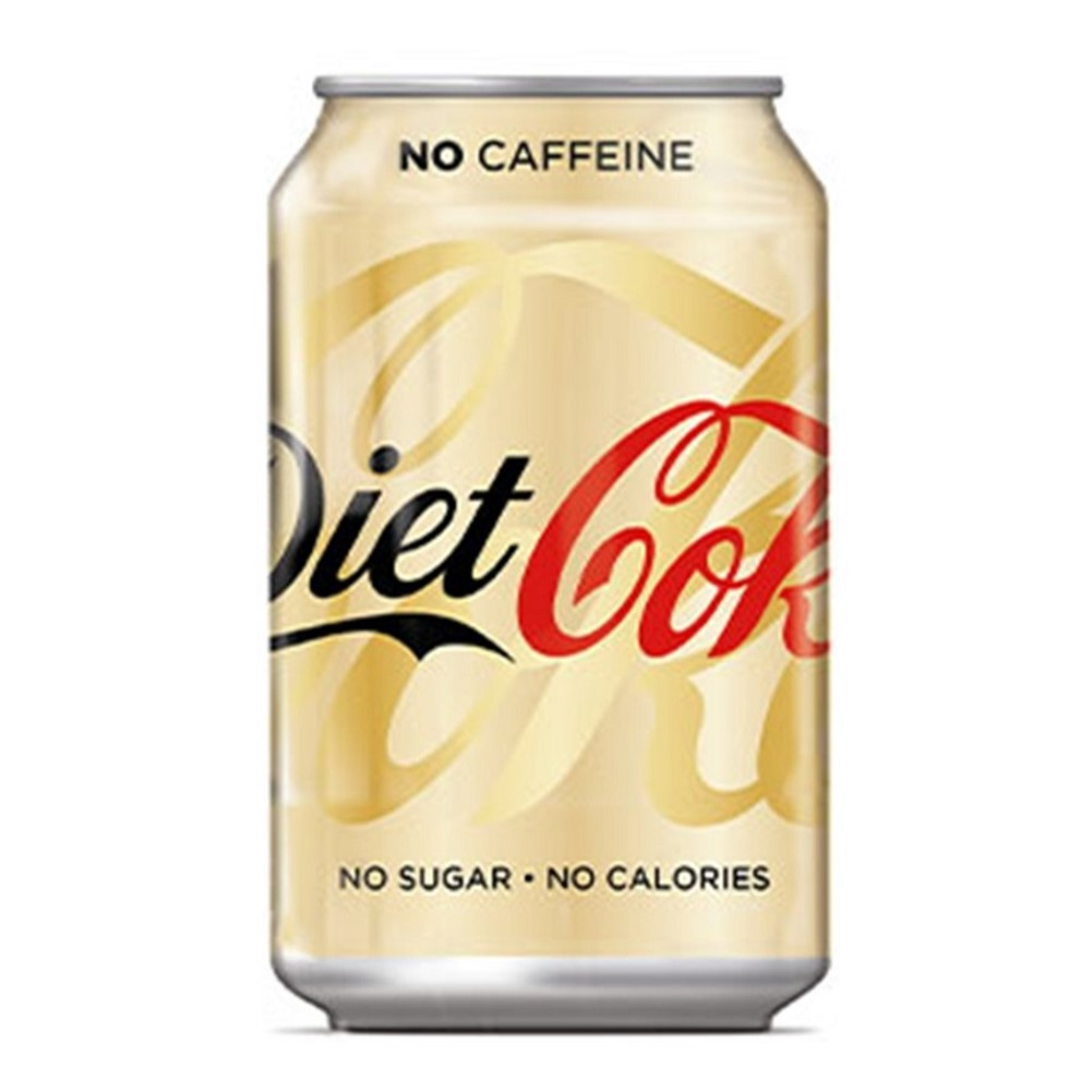 Coca Cola Caffeine Free Diet - 24x330ml cans