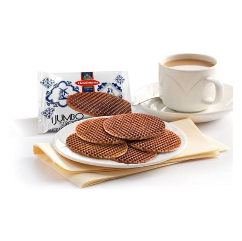 Daelmans Caramel Stroopwaffle - 144 single wrapped biscuits