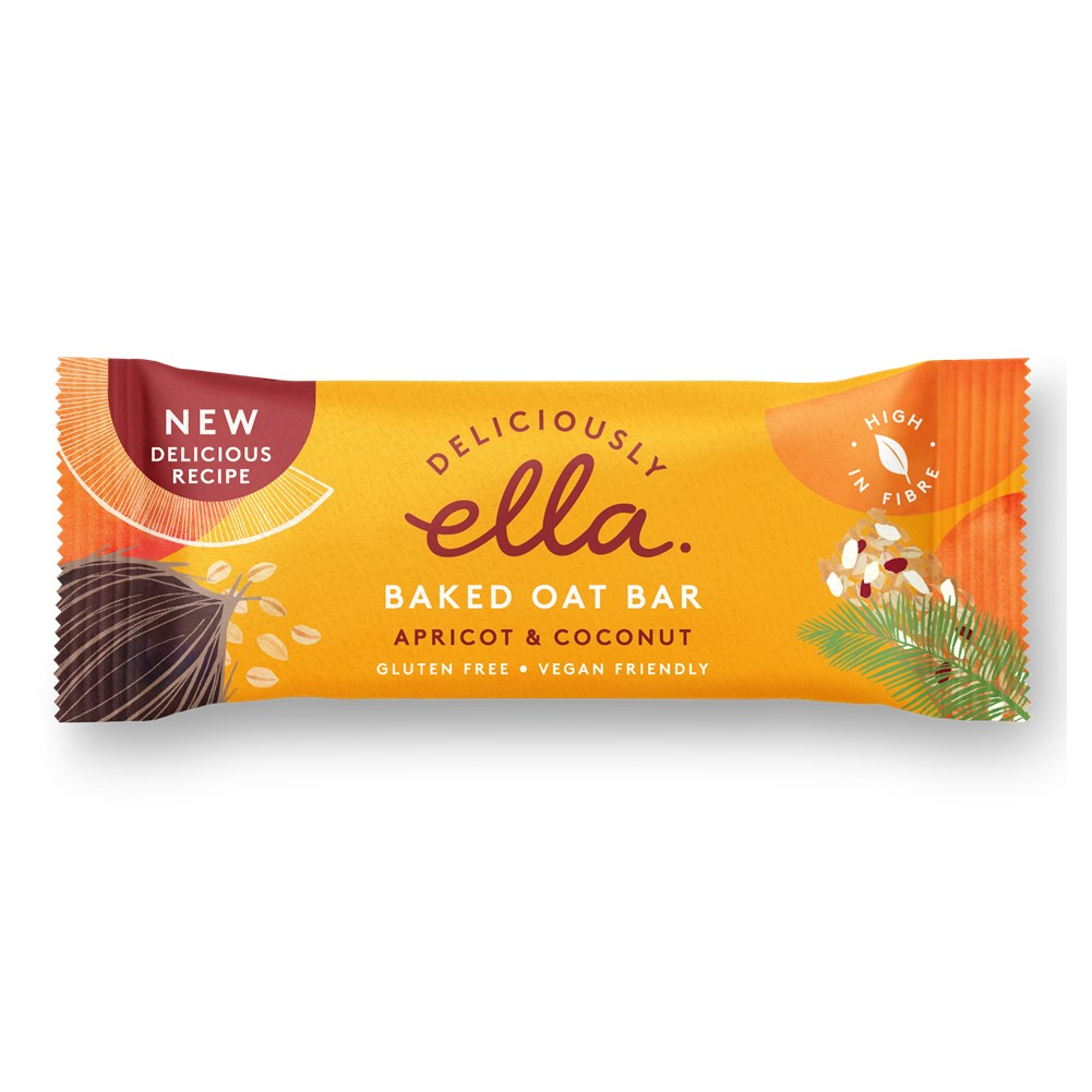 Deliciously Ella Oat Bars Apricot & Coconut - 16x50g bars