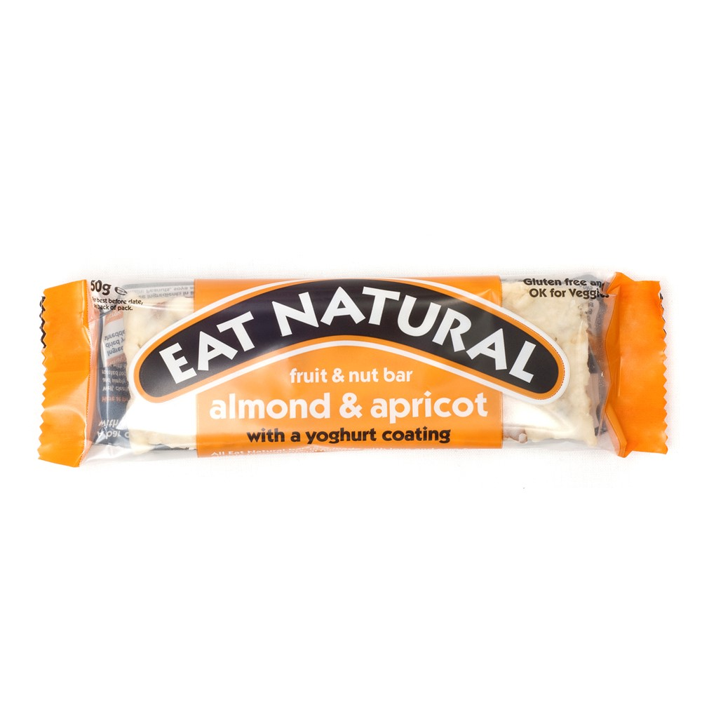 Eat Natural Almond, Apricot & Yogurt - 12x50g bars