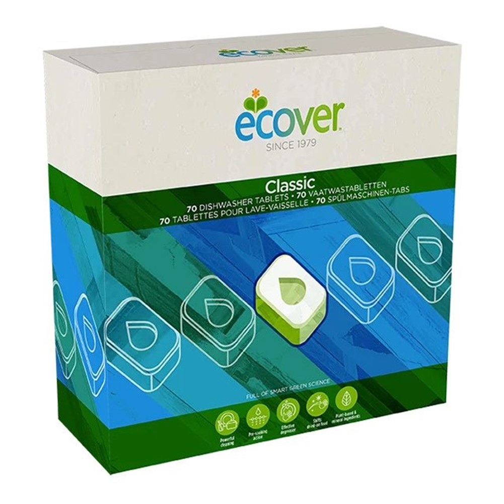 Ecover Dishwasher Tablets - 70x20g tablets