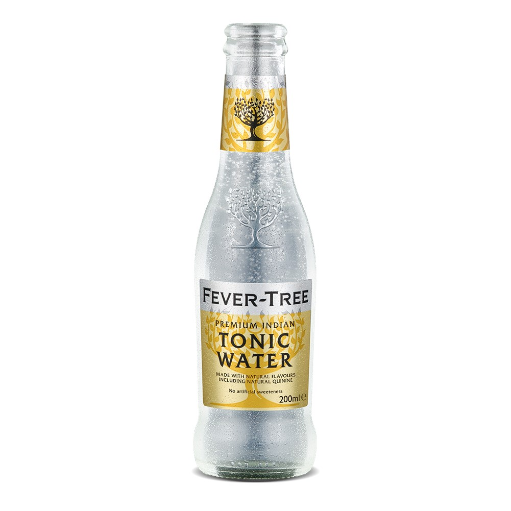 Fever Tree PREMIUM Indian Tonic Water - 24x200ml glass bottles