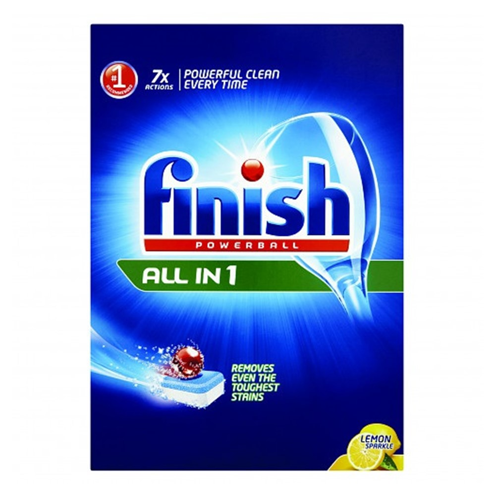 Finish Dishwasher All In 1 Lemon - 86 tablets