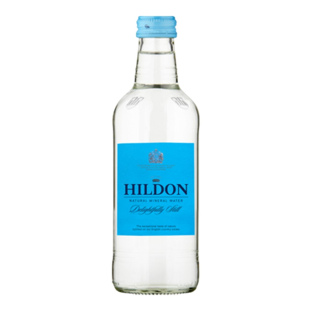 Hildon Delightfully Still Water - 24x330ml glass bottles