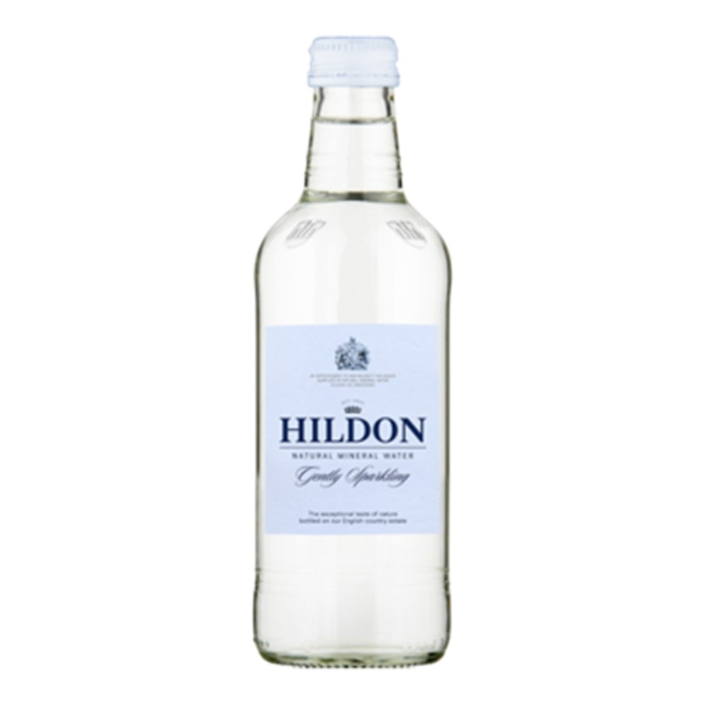 Hildon Gently Sparkling Water - 24x330ml glass bottles