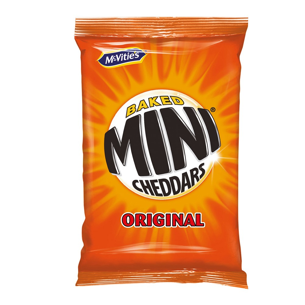Jacob's Mini Cheddars - 44x35g packets
