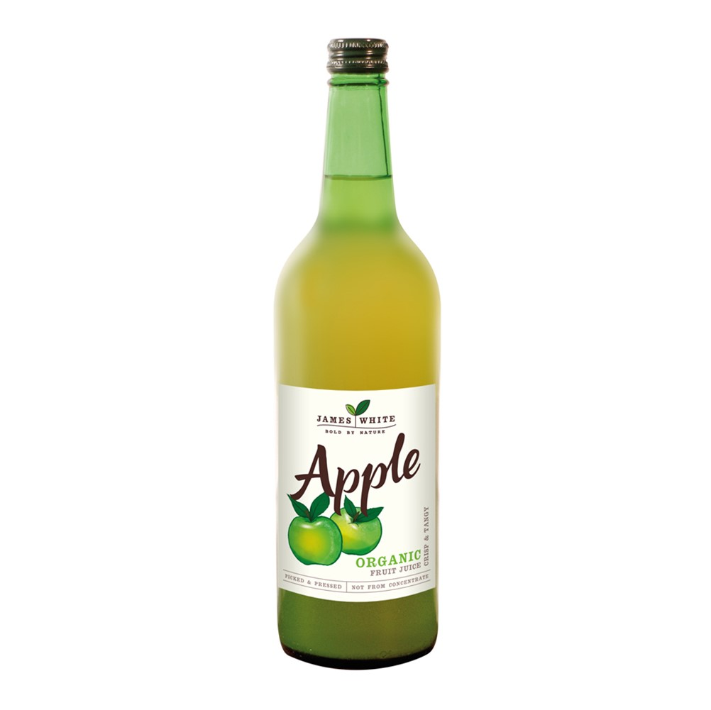 James White Apple Juice - 6x750ml glass bottles [ORG]