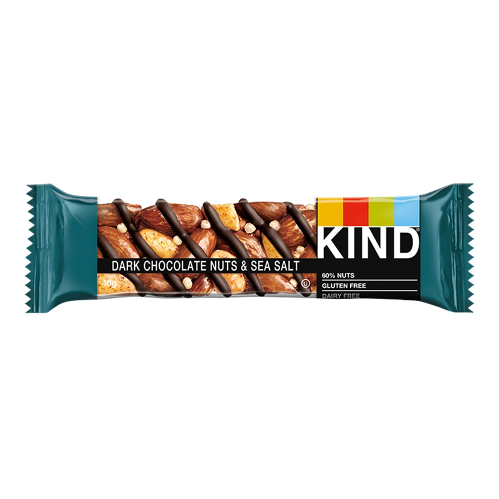 KIND Dark Chocolate Nuts & Sea Salt  - 12x40g bars