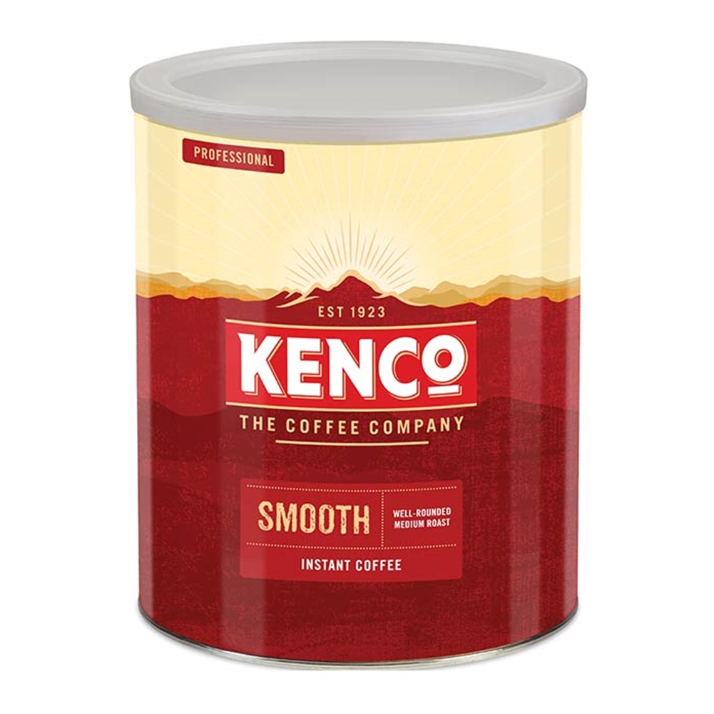 Kenco Instant Freeze Dried Smooth Roast - 750g tin
