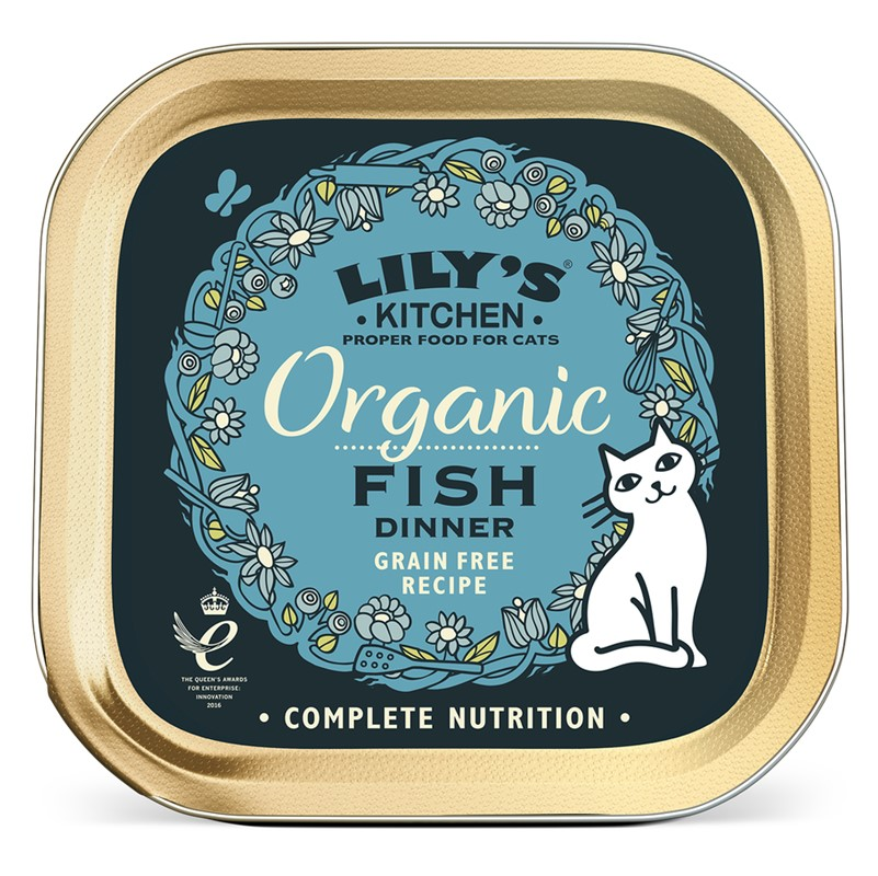 Lily's Kitchen [Cat] Fish Dinner - 19x85g tins [ORG]